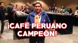 Perú gana premio mundial del mejor café de calidad en la Feria Internacional Global Specialty Coffee Seattle 2017, en EEUU