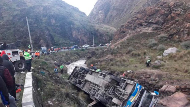 Carretera Central: 10 personas pierden la vida en un terrible accidente de tránsito en Casapalca, Perú